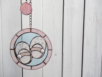ステンドグラス(はじめの一歩 ピンク)の画像