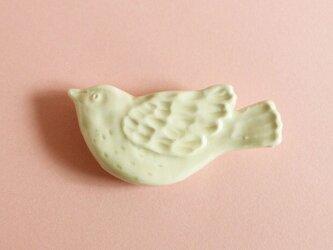 カトラリーレスト トリ クリームの画像