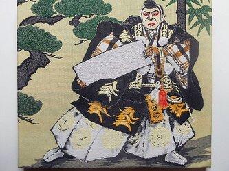 ファブリックパネル 歌舞伎 勧進帳の画像