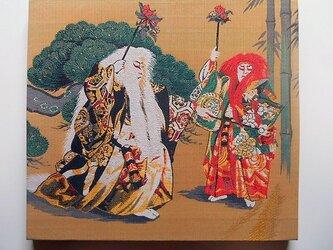 ファブリックパネル 歌舞伎 連獅子の画像