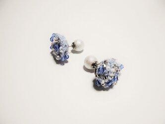 beads crochet pierce 0055の画像