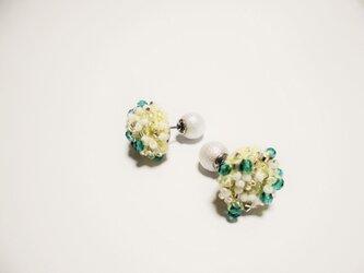 beads crochet pierce 0057の画像