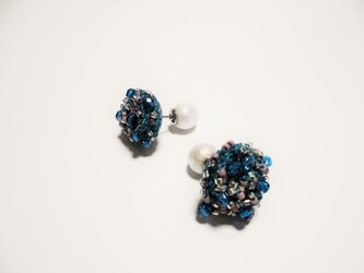 beads crochet pierce 0058の画像