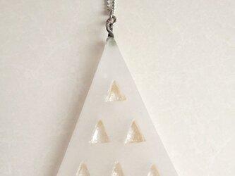 ネックレス_三角ツリーの画像