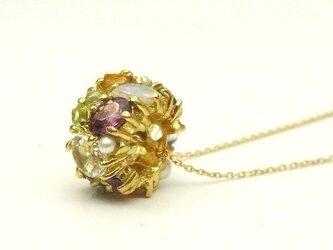 パヴェリング necklaceの画像