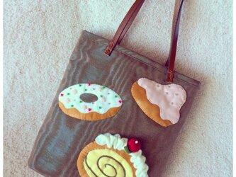 sale☆I ♥︎ cakes bagの画像