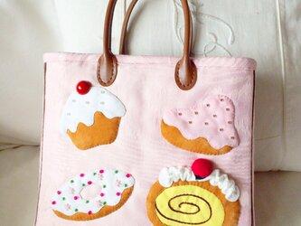 I ♥︎ cakes bagの画像