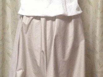 ツイストコクーンスカートの画像