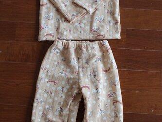 90サイズ☆接結ニットパジャマの画像