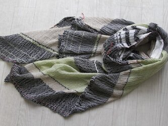 only one shawl cotton100 -a07-の画像