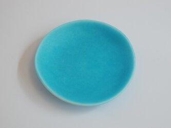 再販 豆皿 ターコイズの画像
