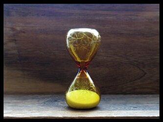 【K様ご予約品】砂時計*s--葉の画像