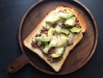 パン皿 ウォールナットの画像
