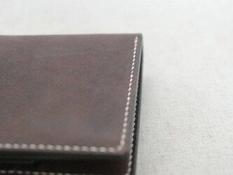 二つ折り財布 《 Dark Brown 》の画像