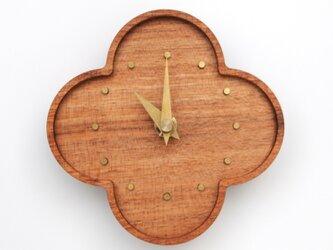 くるみの小さな壁掛け時計の画像