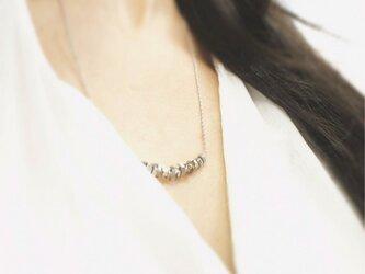 Silver925ナットネックレスの画像