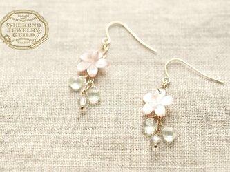 桜ピアス WJG_P012の画像