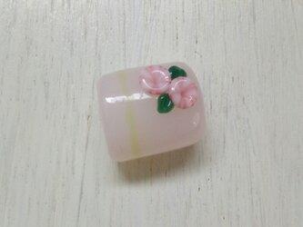 3分紐帯留め はな ~おとめなピンク~の画像