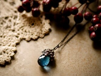 【Recolte -Blue Topaz】necklaceの画像
