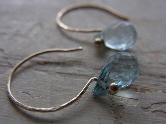 shizuku K10pierced earringsの画像