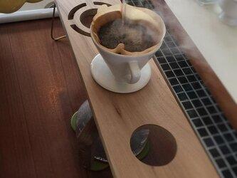コーヒー ドリップスタンド Coffee ハンドドリップ用4ポイント 珈琲 おしゃれ ギフト 贈り物 ※受注販売の画像