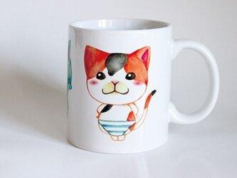 受注生産!! 猫マグカップ『パンツがあったので履いてみた』の画像