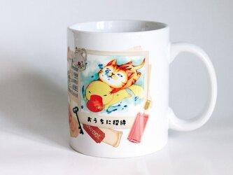 受注生産!! 猫マグカップ『コラージュ フォト』の画像
