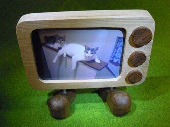 フォトフレーム・テレビくんの画像