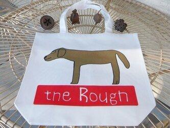 「the Rough」トートバッグ(M)イヌ の画像