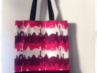 三都物語のトートバッグの画像