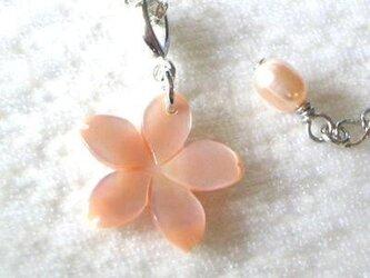 桜ネックレス PSの画像