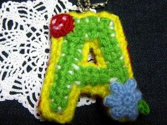 アルファベット★キーホルダー/Aの画像