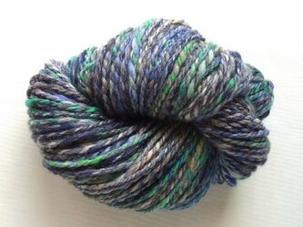 手紡ぎ糸 S-506 100gの画像