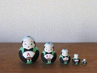 マトリョーシカ5個組(ありがとう福助)の画像