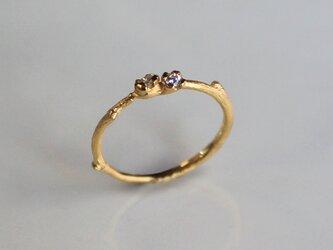 ブランシェ 小さい花のリングの画像