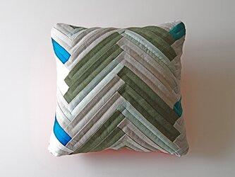cushion / herringbone (gray)の画像