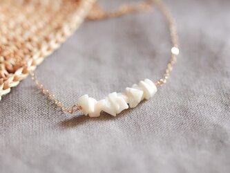 【SALE!割引中】coral pieces necklaceの画像
