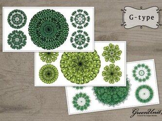Green Flowers (3set) G-typeの画像