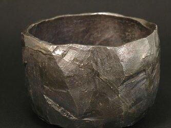 燻銀彩茶碗の画像