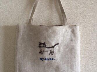 おさんぽバッグ ニャンコの画像