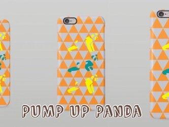 PUMP UP Panda iPhoneケースの画像
