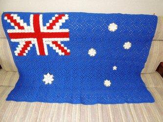オーストラリア国旗のブランケットの画像