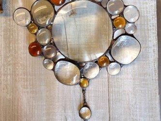 bubbled glass   サンキャッチャーの画像