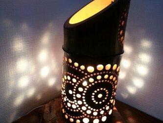 竹灯篭 花火2の画像