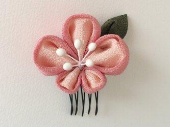 【つまみ細工】髪飾り*ころん桜*の画像