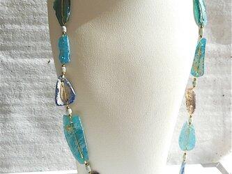 ancient roman glass necklace Dの画像