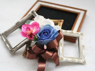 春色コサージュ(コサージュケース付)の画像