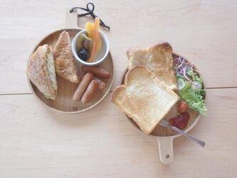 パン皿 クリの画像