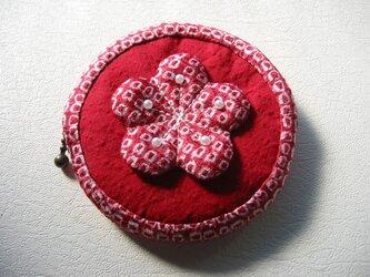 梅花の小銭入れの画像