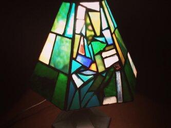 ステンドグラス ランプ forestの画像